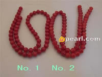 Wholesale special shape good quality coral strands