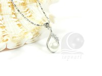 Wholesale 8-8.5mm freshwater pearl pendant