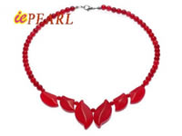 Wholesale red jasper beads necklace online