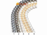 Wholesale 10mm shell pearl strings sold per 16 inches